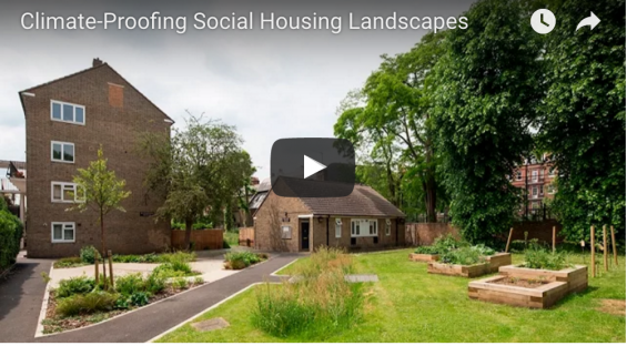 Retrofitted  green infrastructure – where many thought it not possible