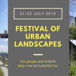 Festival of Urban Landscapes – from green roofs to brownfield gardens