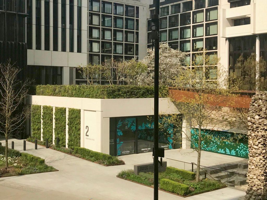 green wall - ANS Global London Wall