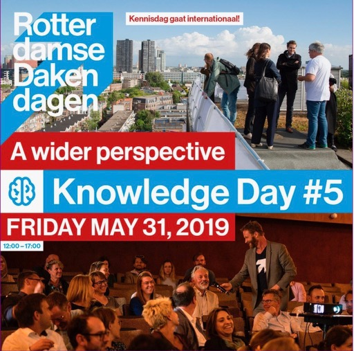 Rotterdam green roof weekend - knowledge day